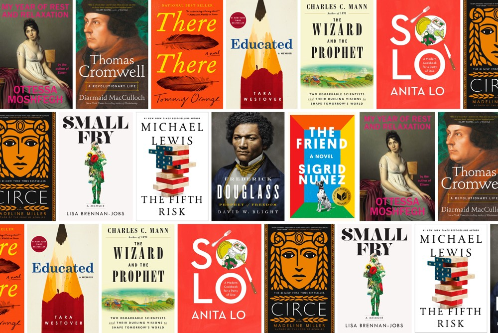 2018: The Most Popular Books to Read